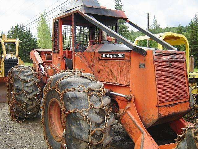 Catalog of Forest Machines Timberjack 380B