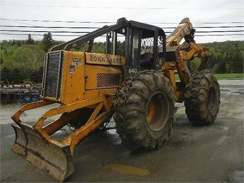 Forestales Maquinas Deere 640