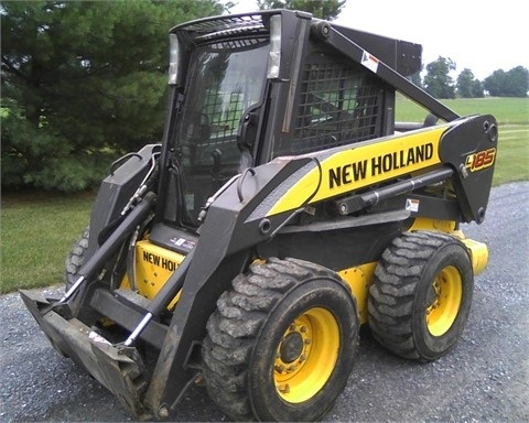 Minicargadores New Holland L185